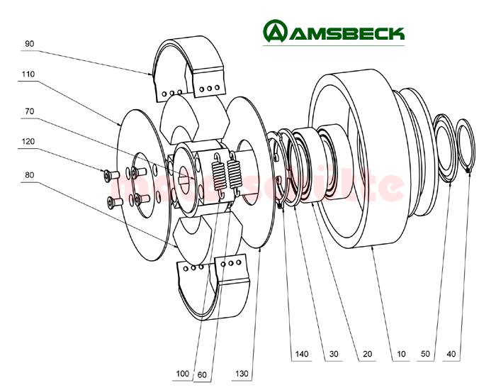 Ersatzteile Amsbeck Typ 140