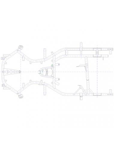 Rahmen MS RZF 29 - 4-Takt