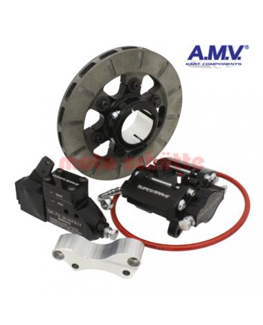 Bremsanlage A.M.V. SUPERBRAKE hinten komplett