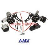 Bremsanlage A.M.V. SUPERBRAKE vorne komplett