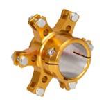 Bremsscheibenaufnahme 50mm gold K727F-G