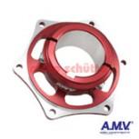 Bremsscheibenaufnahme 50mm AMV Rot