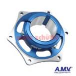 Bremsscheibenaufnahme 50mm AMV Blau