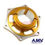 Bremsscheibenaufnahme 50mm AMV Orange