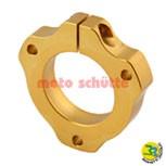 Lagergehäuse / Lagerschale  Ø 30mm gold
