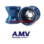 Felge 130mm 125cc AMV, Sterndesign Blau