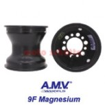 "Felge 130mm 125cc AMV ""9F"" Magnesium, Schwarz"