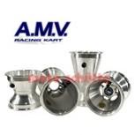 Felgensatz 130/210mm, 100cc Sterndesign Silber