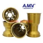 Felgensatz 125cc 130/210mm TIGER Gold