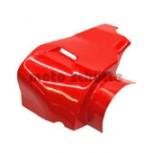 Motorabdeckhaube mit Luftschlitz