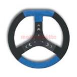 Lenkrad 320mm blau-schwarz