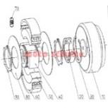 Kupplungsfedersatz 2400 U/min. Amsbeck 110