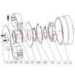 Fliehgewichtsatz (= 2 Stück) für Amsbeck-Kupplung Typ 90