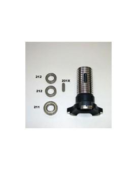 Tragrohr für vordere Radnabe 40 mm RCA 26/C