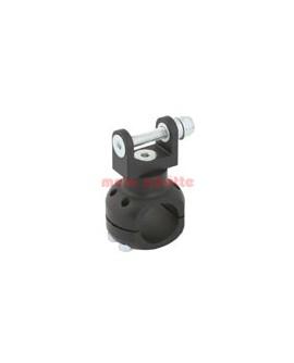 Halter Wasserpumpe Ø 30 mm Schwarz eloxiert