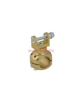 Halter Wasserpumpe Ø 30 mm Gold eloxiert