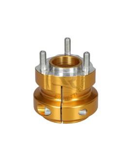 Radstern 50 x 62 mm Gold eloxiert