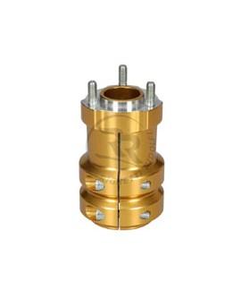 Radstern 50 x 115 mm gold eloxiert