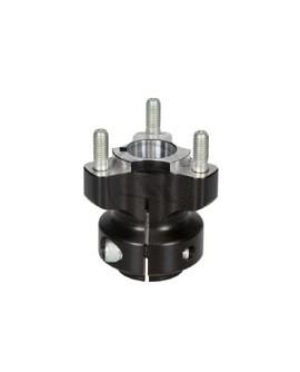 Radstern 25x62mm schwarz
