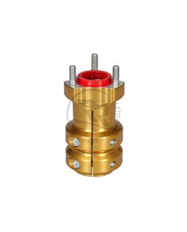 Radstern 40 x 115 mm Gold eloxiert