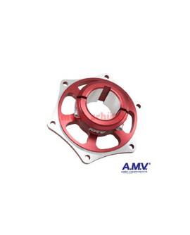 Bremsscheibenaufnahme 40mm AMV Rot