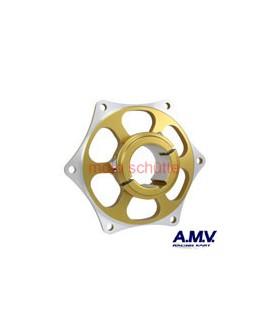 Kettenradaufnahme 40mm AMV Gold