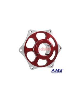 Kettenradaufnahme 40mm AMV Rot