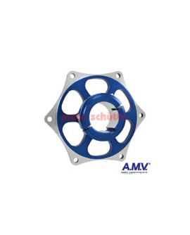 Kettenradaufnahme 40mm AMV Blau