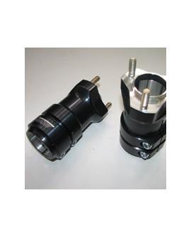 Hinterradnabe Ø 40x120mm - AL, eloxiert