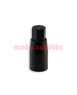 Alu-Radmutter M8 schwarz