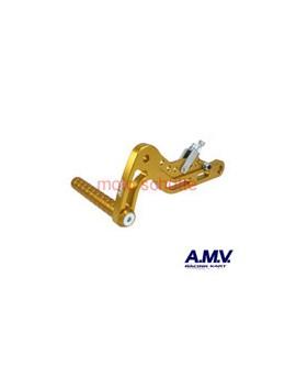 Alu-Bremspedal AMV Gold