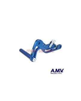 Alu-Bremspedal AMV Blau