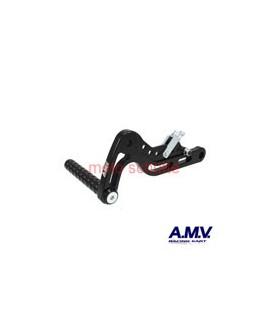 Alu-Bremspedal AMV Schwarz