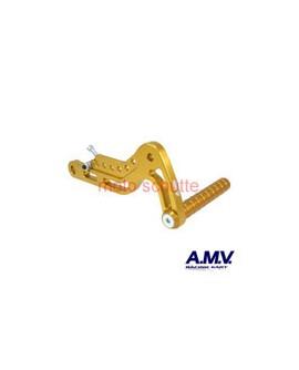 Alu-Gaspedal AMV Gold
