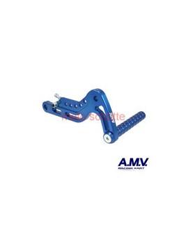 Alu-Gaspedal AMV Blau