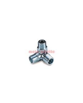 Winkelverteiler für Stahlflexbremsleitung