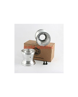 Felge 125mm 125cc LK: 68mm Silber