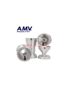 Felgensatz 125/210 AMV (KF) Standard Silber