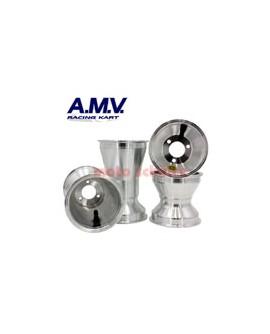 Felgensatz 130/210mm, 125cc Standard Silber