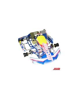 MS-Kart Blue Falcon EVO KF2 (2-Takt) mit Handbremse vorne