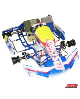 MS-Kart Blue Swift KF2 (2-Takt) mit Handbremse vorne