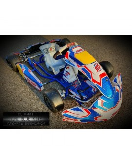 MS-Kart Mini Blue Kite