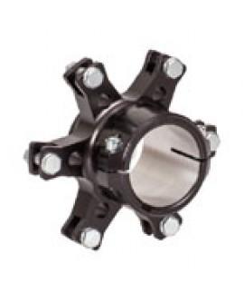 Bremsscheibenaufnahme Stern *Schwimmend* Ø40mm Schwarz