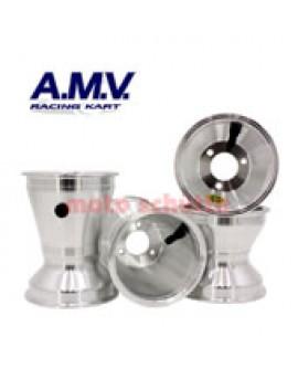 Felgensatz 130/180mm, 125cc (KZ) Standard Silber