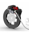 Bremsanlage SPEED EVO hinten komplett, Schwarz eloxiert