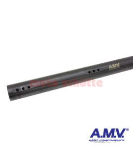 """Hinterachse 50x1040x2mm """"AMV"""" medium, schwarz"""
