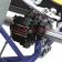 Bremsanlage MA20 hinten komplett, Schwarz eloxiert