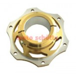 Bremsscheibenaufnahme 50mm gold