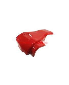 Motorabdeckhaube mit Luftschlitz rot