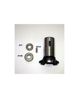 Tragrohr für vordere Radnabe 50 mm RCA 26/C